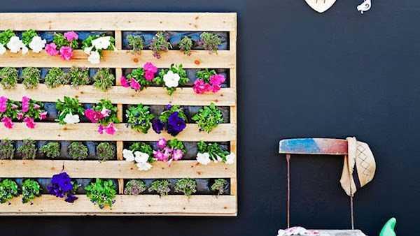 Come costruire una fioriera verticale   idee green
