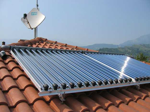 calcare pannelli solari