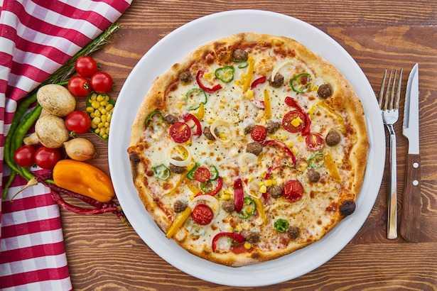 pizza vegan ricetta