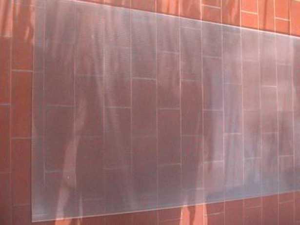 Pareti Esterne In Vetro E Legno : Materiali isolanti trasparenti e sottovuoto per facciate