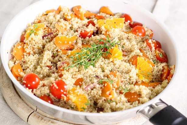 quinoa benefici ricette