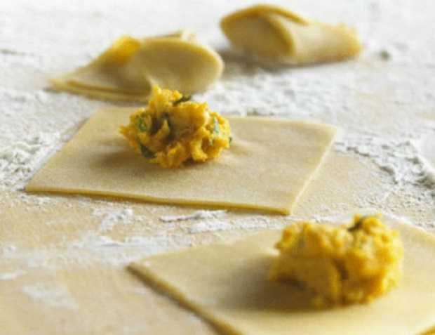 Pasta Ravioli Ricetta i Ravioli Tipo di Pasta