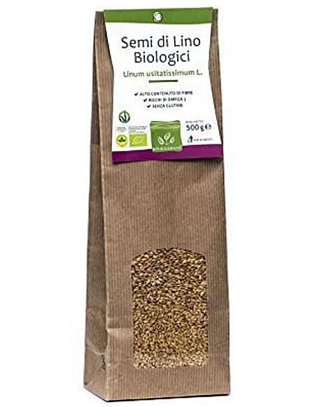 semi di lino biologici