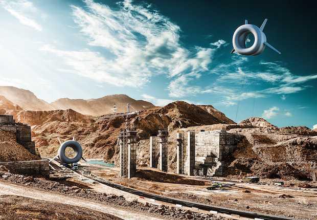 turbina eolica volante
