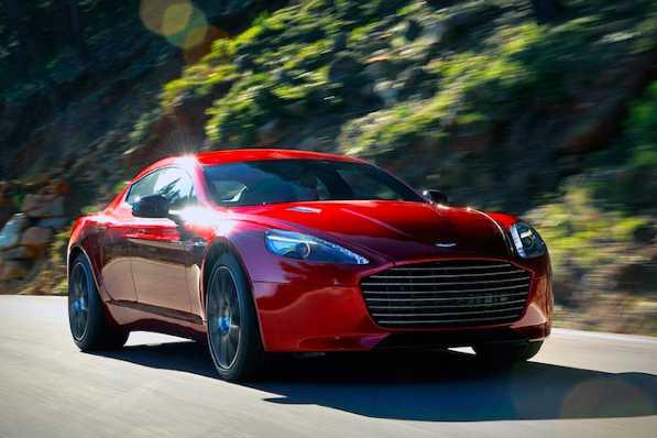 Uno splendido modello di Aston Martin alimentato a idrogeno