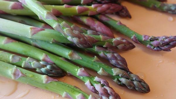 Risotto agli asparagi e gamberi