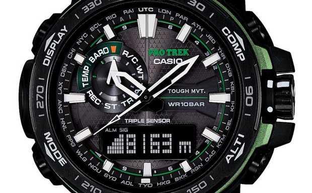 Casio Pro Trek PWR-6000Y