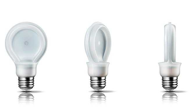 lampade LED flat