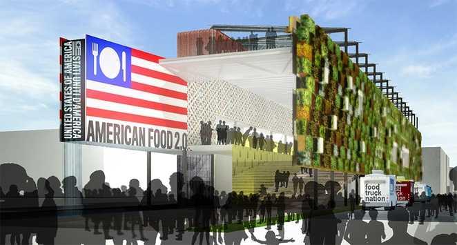 padiglione americano expo