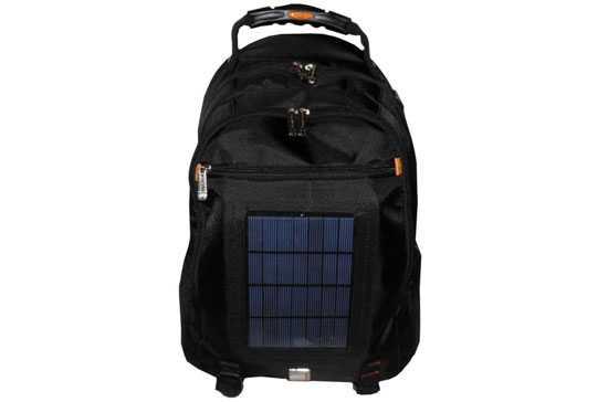 Zaino Trekking Con Pannello Solare : Zaini solari i prodotti disponibili idee green