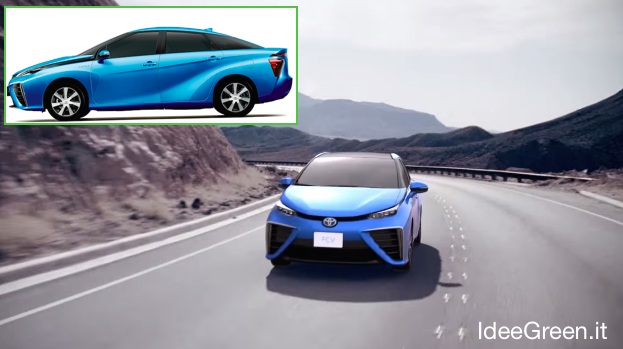 Toyota sedan fuel cell