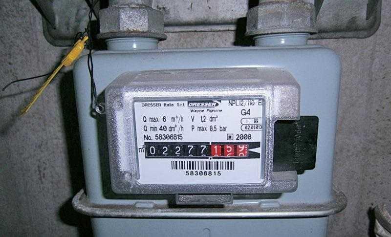Come leggere il contatore del gas idee green for Armadio contatore gas