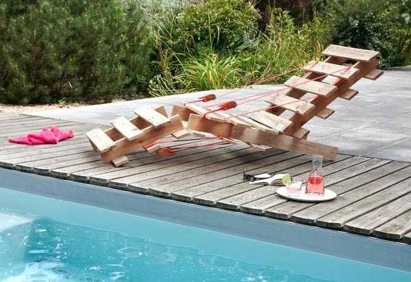Costruire Una Sedia Sdraio.Come Costruire Una Sedia Con I Pallet Idee Green