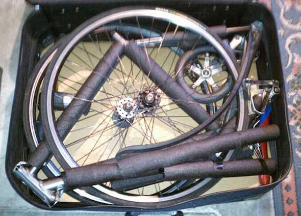 Come imballare una bici
