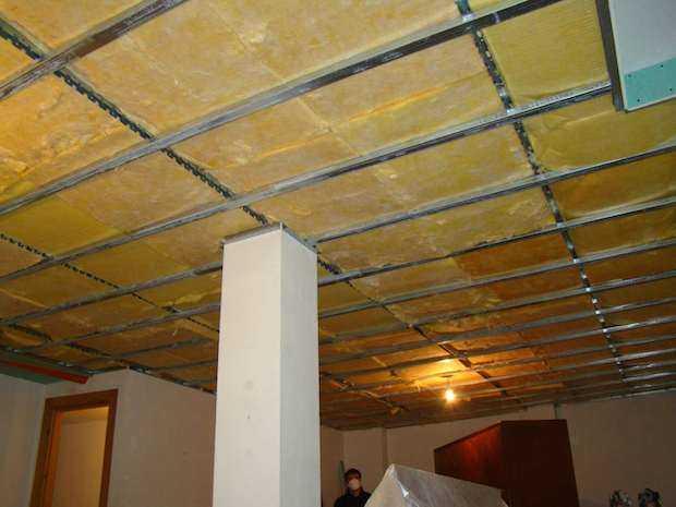 isolamento termico interno a soffitto