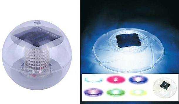 lampade galleggianti solari