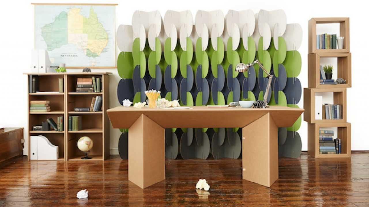 Arredamento Fai Da Te mobili di cartone riciclato, dal negozio al fai da te - idee