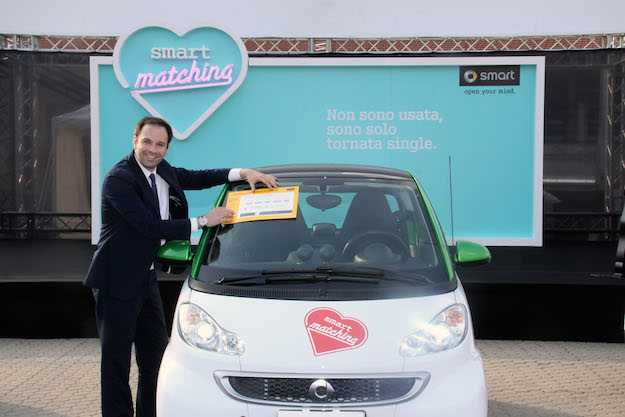 smart for two electric drive usata