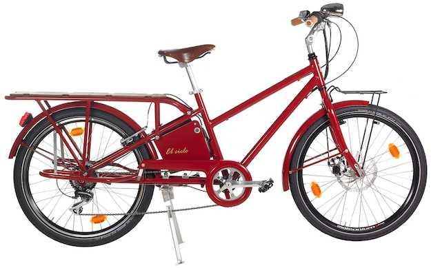 Bicicletta-elettrica-2 posti