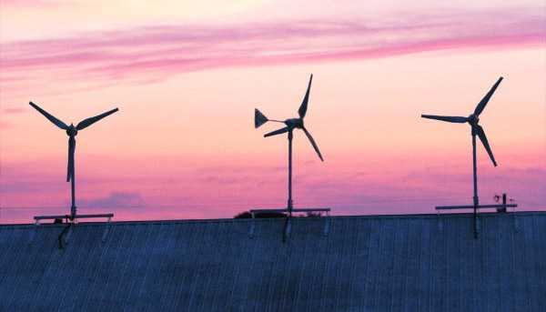 eolico sul tetto