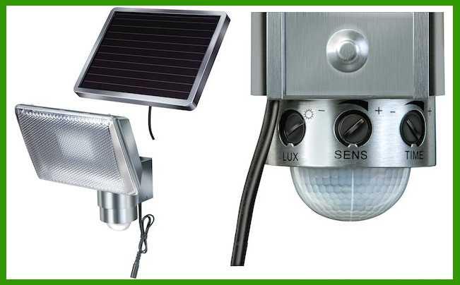 lampada solare a led