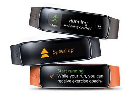 Samsung Gear Fit - cardiofrequenzimetro