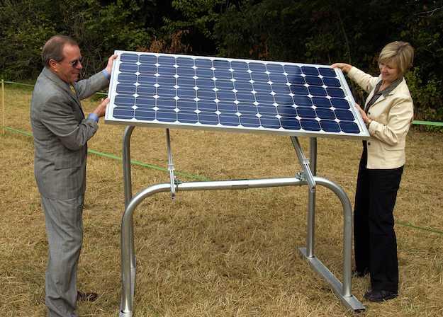 Pannello Solare Hermann : Pannello solare portatile i modelli idee green