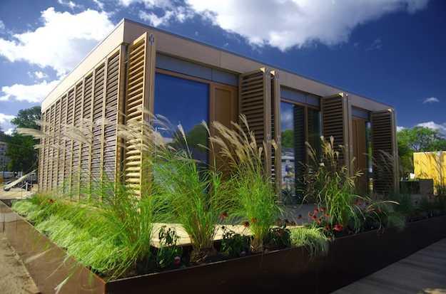 I princ pi dell 39 architettura bioclimatica idee green - Maison passive design ...