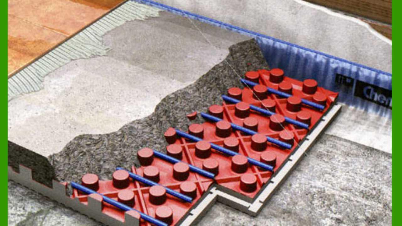 Riscaldamento A Pavimento Ribassato Spessore lo spessore dei pannelli radianti - idee green