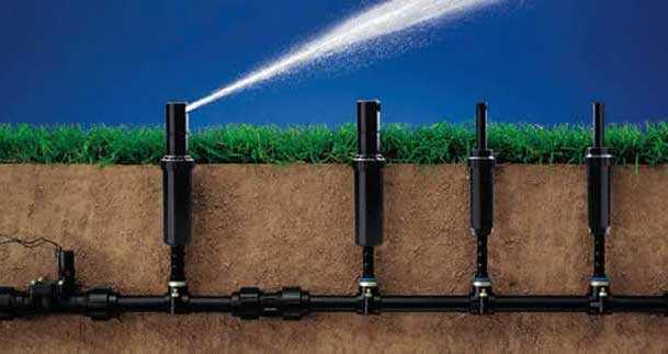 Costruire un sistema di irrigazione interrato idee green for Impianto irrigazione giardino progetto