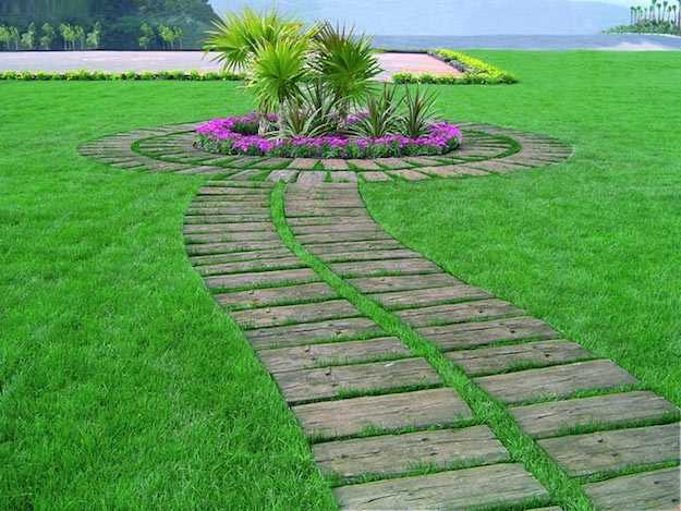 Costruire un pavimento in legno per giardino idee green - Pavimenti in legno per giardino ...