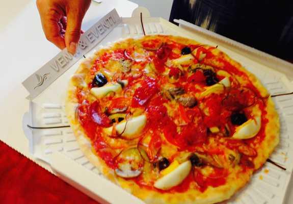 Cartone pizza reciclabile Vinni
