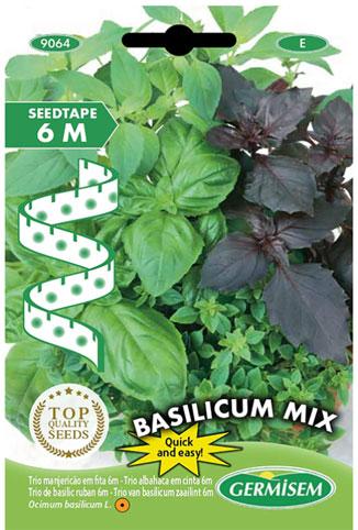 basilico semi a nastro