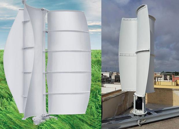 turbina eolica per tetto