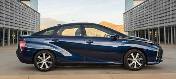 Auto a idrogeno Toyota Mirai