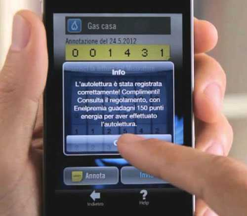 Come fare autolettura gas