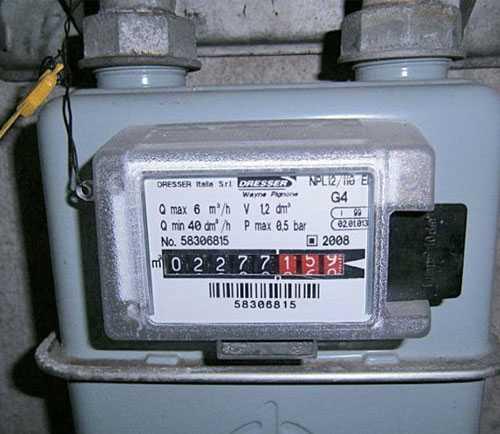 Come si legge il contatore del gas