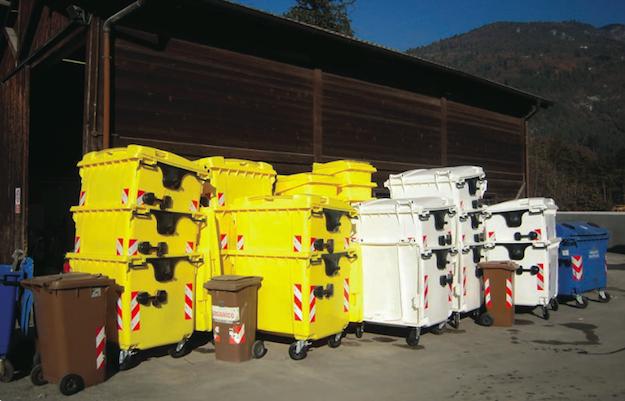 differenziare rifiuti in casa