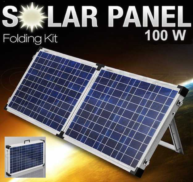 fotovoltaico portatile