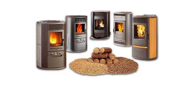 impianto riscaldamento pellet