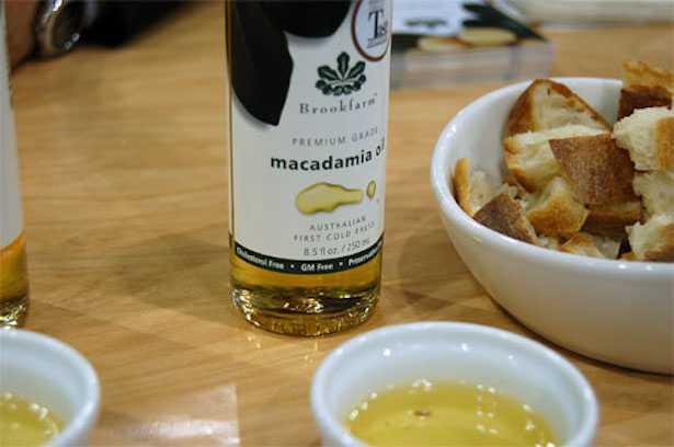 olio di macadamia alimentare