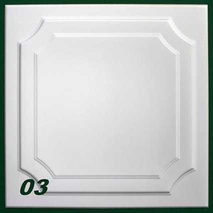 Pannelli per soffitto decorati in polistirolo effetto 3d for Pannelli in polistirolo per soffitti