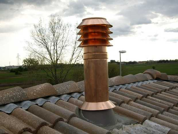 Corretta installazione canna fumaria idee green for Installazione di condotte idriche in rame