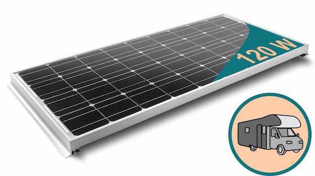 Quanto Carica Un Pannello Solare Da 100w : Pannelli solari per camper guida alla scelta idee green