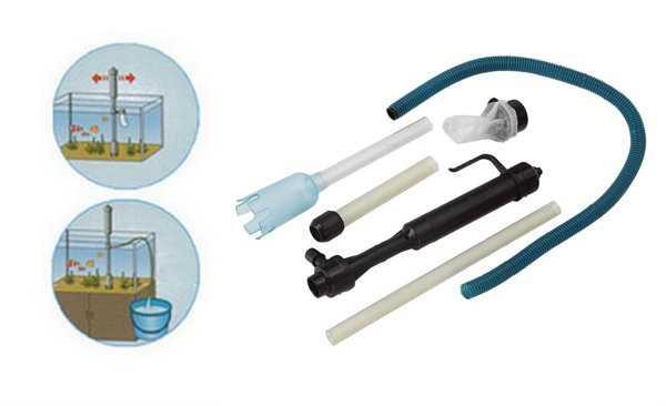 kit pulizia acquario