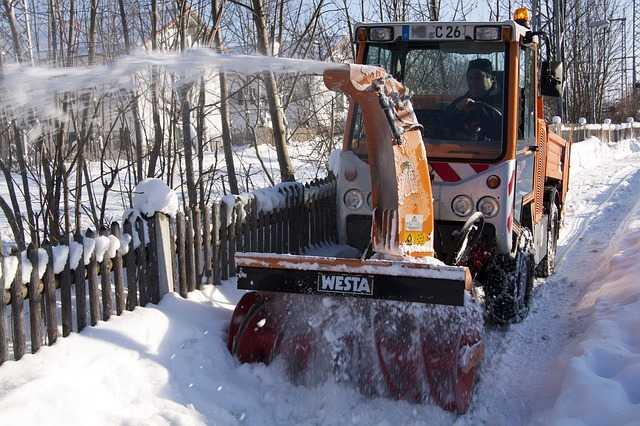 come togliere la neve