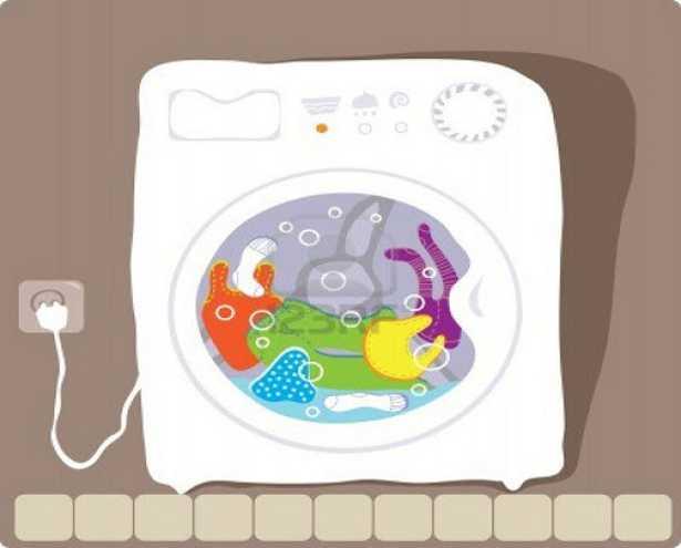 Funzionamento della lavatrice