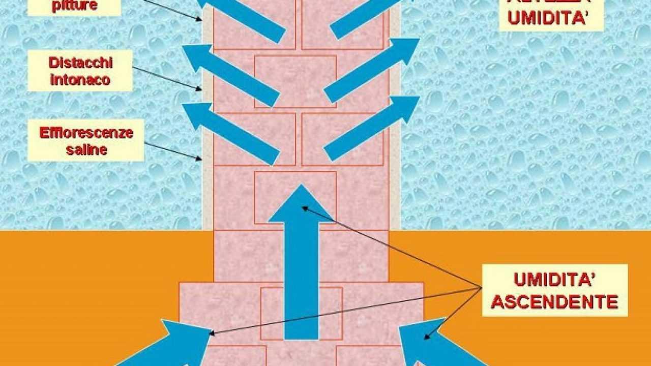 Muro Bagnato Cosa Fare muri bagnati e umidità: le soluzioni - idee green