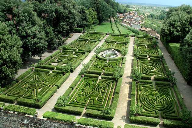Alla scoperta dei 100 giardini per expo 2015 idee green - I giardini di palazzo rucellai ...