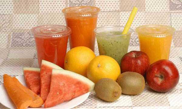 come fare succhi di frutta in casa